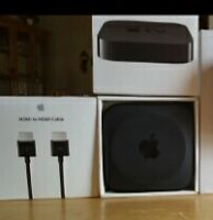 Apple TV with HDMI cable