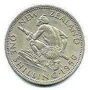 New Zealand One Shilling