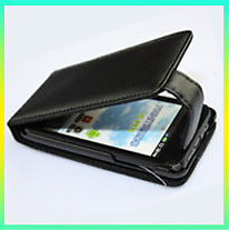 Flip Leather Pouch Case For LG Optimus Black P970