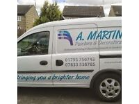 A.MARTIN PROFESSIONAL PAINTERS AND DECORATORS. VERY COMPETITIVE RATES. BRINGING YOU A BRIGHTER HOME