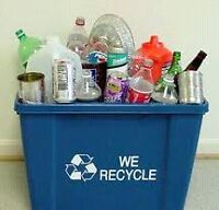 I will pay you for your recyclables!