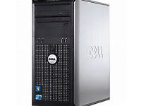 DELL OPTIPLEX 380 TOWER Base Unit, fast 2.7Ghz, Office, WiFi, DVD/RW etc SPOTLESS