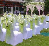 BEAUTIFUL CHAIR COVER,TABLECLOTH & BACKDROP RENTAL