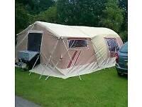 Raclet safari trailer tent