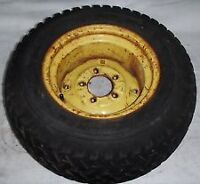 garden tractor tire or wheel and tire 23x950x12