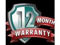 12 MONTH WARRANTY SLY & VM
