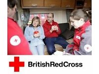 Volunteer for the British Red Cross