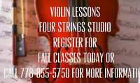 Violin and Pino Lessons