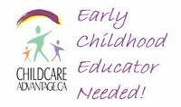 Early Childhood Educator Required