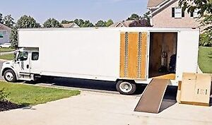 Déménageurs avec camion disponible aujourd'hui!