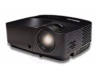 InFocus projector. IN122a. Used once. 3500 lumens