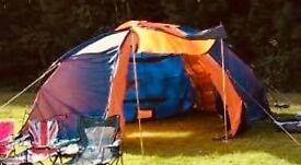 6 man tent + extras