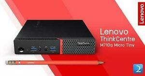 Lenovo ThinkCentre M710q Tiny - 10MQS54800 (Core i5-7500T 2.7GHz, 8GB DDR4, 500GB HDD,  Windows 10 Pro 64