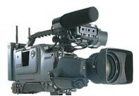REDUCED $900 OBO Sony DSR-500-WSP Digital Camcorder/Canon Lens