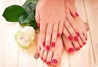 MOBILE SPA SERVICES! MANICURES, PEDICURES, FACIALS, & WAXING!