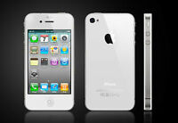 White iPhone 4S Rogers 32GB Excellent Cond. + Extras