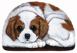 Cavalier King Charles Spaniel gifts: circle, doormat,paperweight