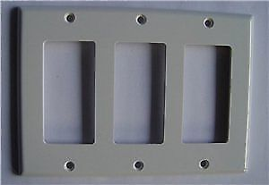 Ortech DECORA WALL PLATE, 10 for $5, 100 for $40