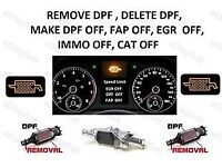 Remapping Mileage correction car diagnostics egr dpf health check