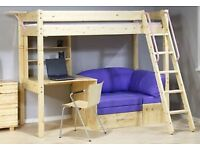 Large cabin bed