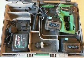 Hitachi dh24dva hammer drill