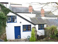 Charming spacious 2 bedroomed cottage in Penryn available for short-term let from 14.10.17