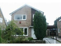 Salendine Nook, 3 bed property to rent. Garage, gardens, conservatory