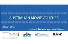 IMAX MOVIE TICKETS/AUSTRALIAN MOVIE VOUCHER Belfield Canterbury Area Preview