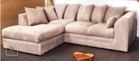 Stylish Corner Sofa (Left Hand Facing): £300-- Over 50% off original price