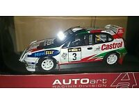 Sainz/Moya 1:18 Scale Replica Toyota Corolla 1999 Safari Special Edition