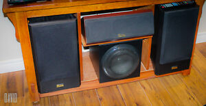 Axiom AX 2 Reference Monitors and Center Speaker Peterborough Peterborough Area image 1