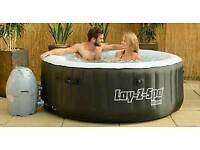Hot tub hire £85