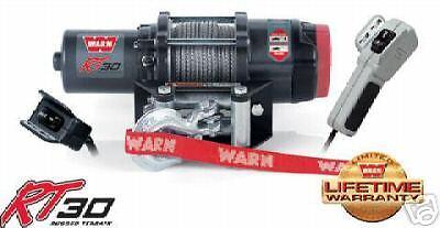 - WARN ATV RUGGED TERRAIN RT30 3000LB 3.0 WINCH WIRE ROPE