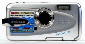 Pentax Optio W30 Digital Camera - Underwater & regular photos