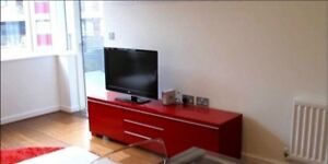 IKEA TV CABINET - BESTA BURS TV UNIT - RED