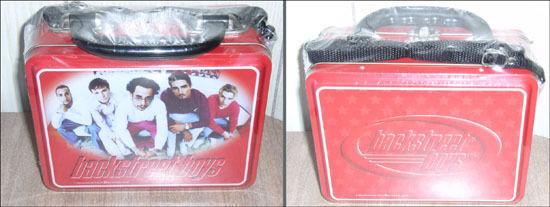 1999 Unopened Backstreet Boys Dark Red Lunchbox