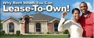 RENT TO OWN PROGRAM! WHY RENT WHEN YOU CAN OWN!?