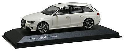 Genuine Audi RS4 Avant PI 1:43 Scale Car - Ibis White