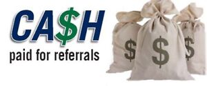Cash for referals