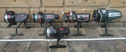 Freshwater Fishing Rods & Reels All In Good Condition
