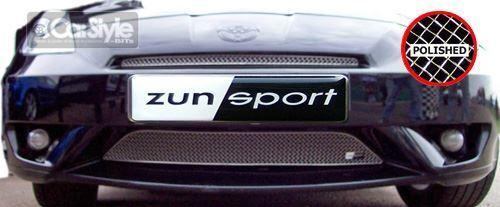 ZunSport Toyota Celica Gen 7 2003-2006 Polished Steel Mesh Front Grille Set