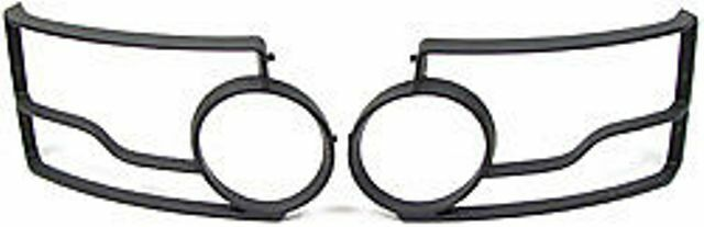 LAND ROVER FRONT LIGHT GUARD KIT SET LR4 / DISCOVERY 4 10-13 GENUINE VPLAP0008