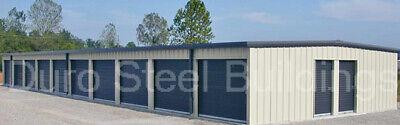 Duro Steel Mini Self Storage 30x70x8.5 Metal Prefab Building Structures Direct
