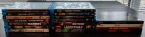 Blurays: Movies & TV Complete Series - Mint condition!