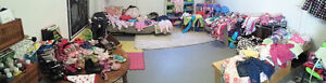 BROCK, May 7th, Tons of kids clothes for sale, most $1 and $2!!