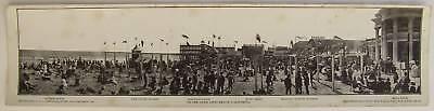 Long Beach Panorama Print: On the Sand, 1900's