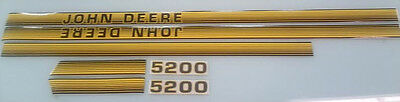 John Deere 5200 Hood Decals