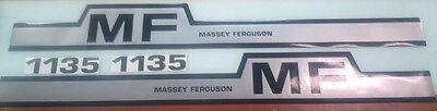 Massey Ferguson 1135 Hood Decals