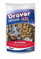 20kg drover dog food. All dog and cat food. Magill Campbelltown Area Preview