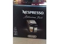 Nespresso Lattissima Touch Coffee Machine As New